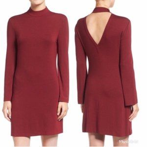 Rebecca Minkoff Cursa Mock Neck Mini Dress
